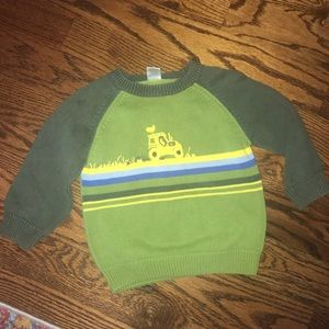 Gymboree Tractor Sweaters